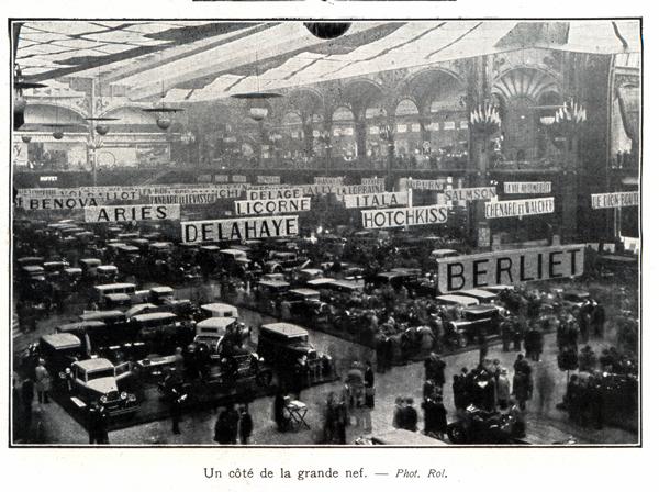 Photos d 39 poques des salon de l 39 auto page 5 histoire for Salon de l auto de paris